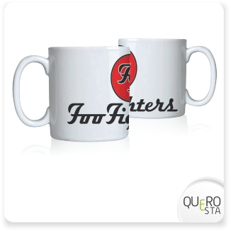 Caneca Foo Fighters
