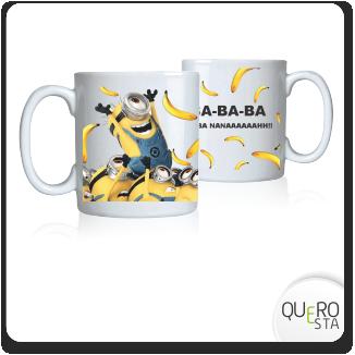Caneca Minions Banana