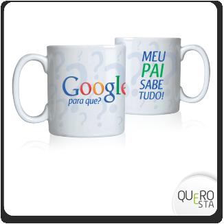 Caneca Pais Google
