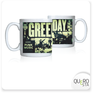 Caneca Green day