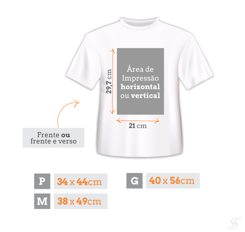 0cc513680 Camiseta Infantil Personalizada Branca - Poliéster - Área Impressa ...