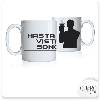 Caneca James Bond