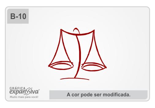 Balança Advogados Estilizada