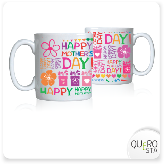Caneca Happy Mothers Days