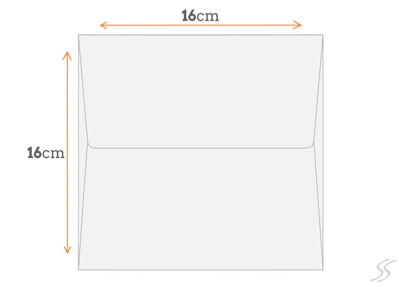 Padrão Envelope 16x16 cm