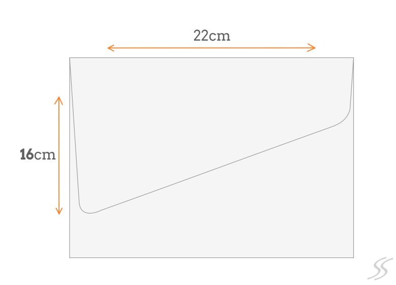Padrão Envelope 16x22 cm