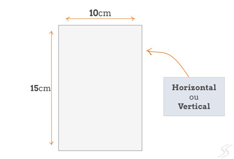Padrão Postais Personalizados 10x15 cm
