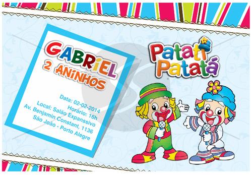 Convites Infantis Para Diversos M3120 Gráfica Expanssiva