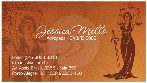 09 12 - Cartão de Visita para Advogados