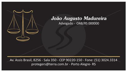 09 2 - Cartão de Visita para Advogados