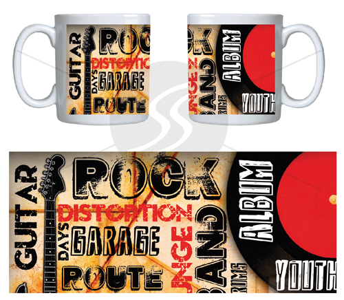 Caneca Rock Day