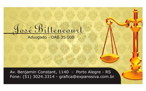M2194 cartoes para advogados 0 - Cartão de Visita para Advogados
