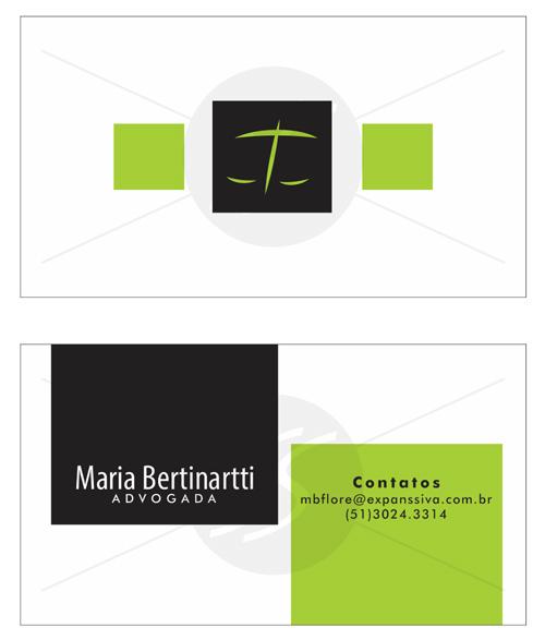 M39 cartoes advogados porto alegre - Cartão de Visita para Advogados