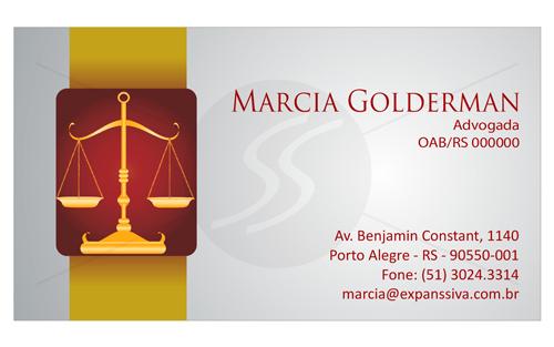 M75 graficas cartoes de visita advogados - Cartão de Visita para Advogados