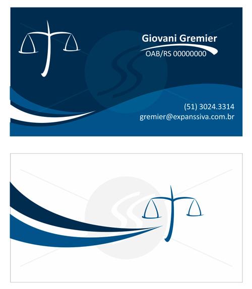 M76 graficas cartoes de visita advogados - Cartão de Visita para Advogados
