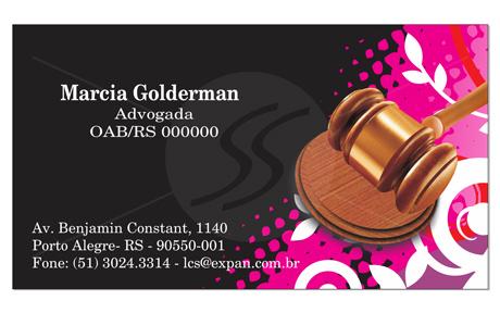 M83 cartoes de visita advogados - Cartão de Visita para Advogados