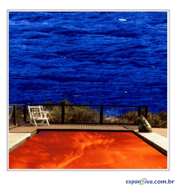 Azulejo Red Hot Chili Peppers - Capa Californication