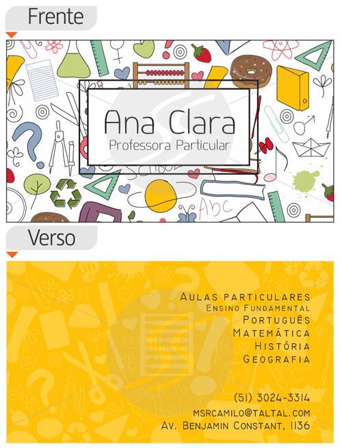 card professores7 - Cartões de Visita Criativos para Professores