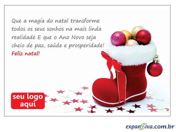 Cartões Comemorativos Para Natal M4885 Gráfica Expanssiva