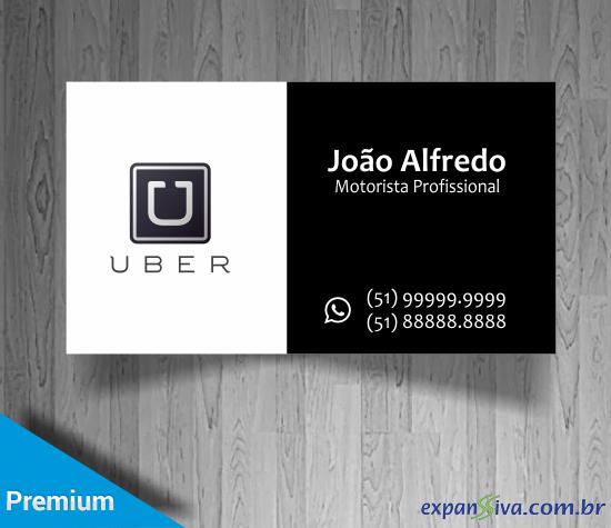 Cartão de Visita UBER