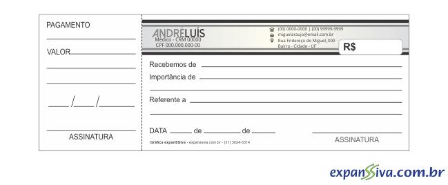 recibos para médicos m22098 gráfica expanssiva