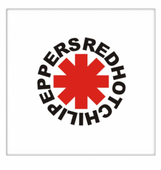 Azulejo Red Hot Chili Peppers logotipo
