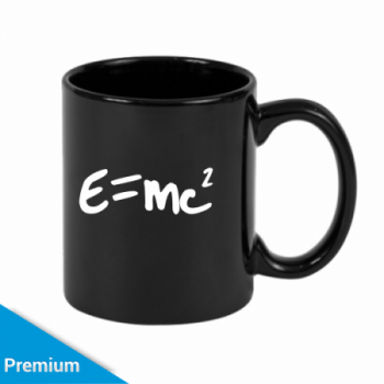 caneca criativa professor de fisica com e-mc2