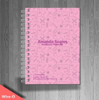 grafica cadernos personalizado professores