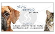 Cartão de Visita e Material de Marketing para Pet Shop
