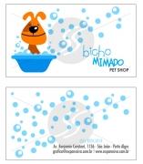 Cartões De Visita Para Pet Shop M19489 Gráfica Expanssiva