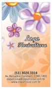layout de cartao floricultura