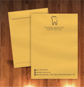 envelopes personalizados de dentistas