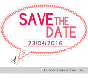 Plaquinhas Divertidas de 15 anos save the date