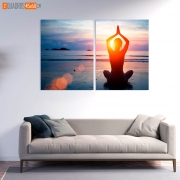 Quadro Decorativo Yoga