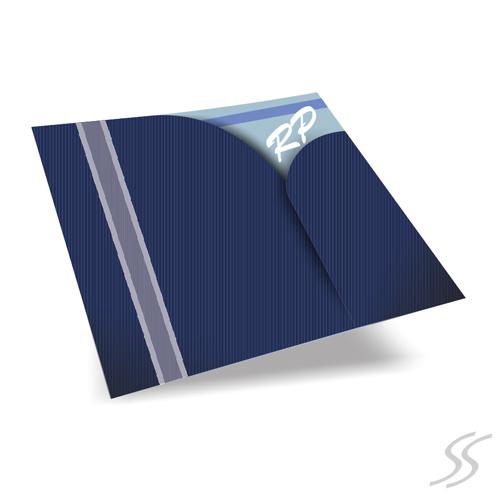 Convite de Casamento SEMPRE - Envelope Color Plus180gr. c/ Corte Especial *2 opções de cores - c/ Fita - 20,8x19 cm - Convite em Papel Couchê 250gr.