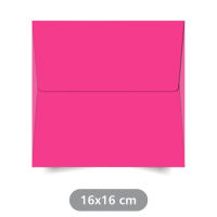 Envelope Rosa - Color Plus - 16x16 cm