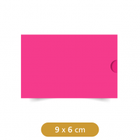 Mini Envelope Luva Rosa - Color Plus - 9x6cm