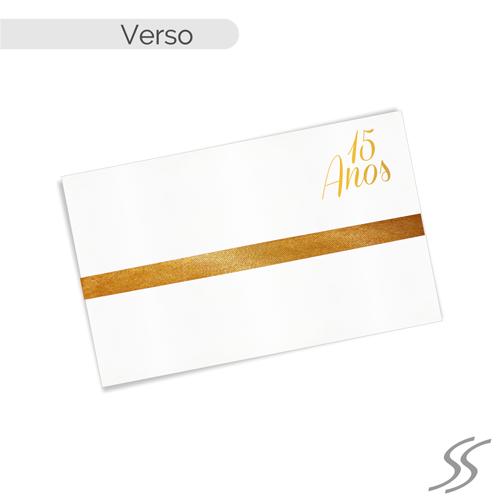 dc3944471 ... Linha Gold - Papel Aspen 180gr - Fita Cetim + Pérola 4x4 Expandir ·  convites de quinze anos personalizados · convite de aniversario ...