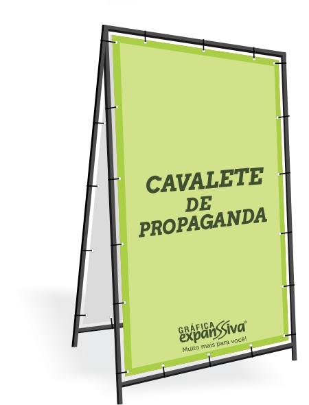 PDV - Cavaletes de Propaganda em Porto Alegre